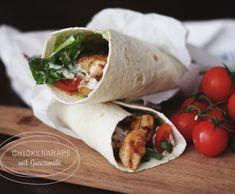 ( Puppenzimmer ): Chickenwraps mit Guacamole {Let's cook together}