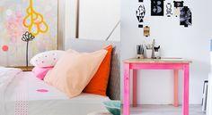 deco orange fluo -ongle | Des inspirations pour une touche de fluo dans la déco | Joli Place