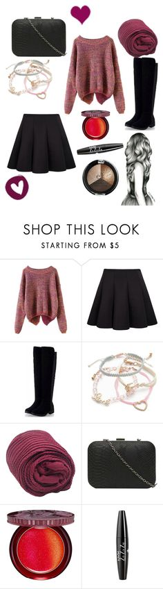 """""""Heart day"""" by vivianrose-11 on Polyvore featuring Red Camel, Dorothy Perkins, Paul & Joe Beaute and NYX"""