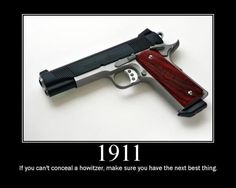 do have a kick, and I'm not talking about recoil. And yes I have seen it multiple times. Concealed Carry Weapons, Weapons Guns, Guns And Ammo, 1911 Pistol, Colt 1911, 1911 Kimber, 1911 Grips, Home Defense, Self Defense