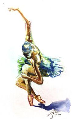 Ballerina Project (Personal) by Nowy Aratan, via Behance