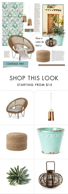 """""""Glorious Med"""" by viva-12 on Polyvore featuring interior, interiors, interior design, home, home decor, interior decorating, Innermost, Bloomingville, Bambeco and Balmain"""
