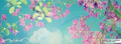 Get this Bougainvilla Flowers Facebook Covers for your profile from Get-Covers.com.
