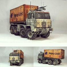 Usina dos Kits (@Usina_dos_Kits) | Twitter Post Apocalypse, Apocalypse Survival, Army Vehicles, Armored Vehicles, Zombie Survival Vehicle, Post Apocalyptic Art, Mad Max, Custom Hot Wheels, Military Modelling