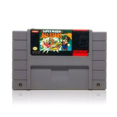 Super Mario All-Stars SNES Super Nintendo game, includes cartridge only. Cleaned, tested and comes with a FREE cart protector! Super Nintendo Console, Super Nintendo Games, Super Mario All Stars, Super Mario Bros, Mario Bros., Entertainment System, 16 Bit, Cart, Magic