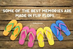 Quotes about Summer: Flip Flops and Memories