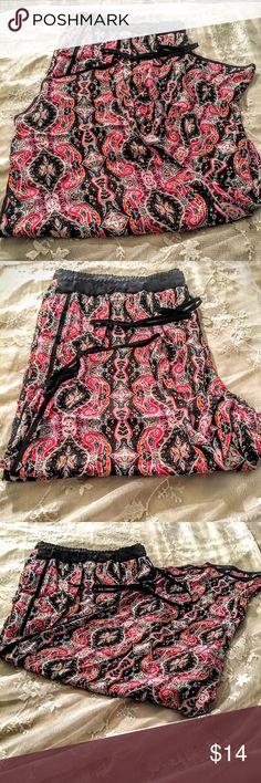 🌹🌹🌹plus size pajama pants 🌹🌹🌹 🌹🌹🌹pink print crepe pj pants 🌹🌹🌹very loose fitting 🌹🌹🌹comfortable 🌹🌹🌹trim is black 🌹🌹🌹100 percent poly 🌹🌹🌹very attractive 🌹🌹🌹great new fashion at affordable price 🌹🌹🌹 DEREK❤️️PLUS Intimates & Sleepwear Pajamas