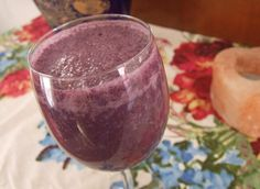 very blueberry smoothie