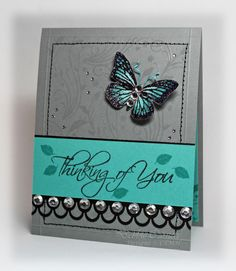 Gorgeous design! DIY Greeting Card.Debbie Carriere, Scrappin' My Heart Out: September 2010