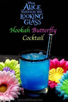 Hookah Butterfly cocktail