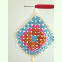 sweet_sharna crochet granny square