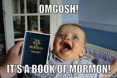 You have to check out these 22 adorable baby Mormon memes