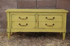 Paint my cedar chest yellow?? (Annie Sloan Chalk Paint - English Yellow)