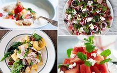 Opskrifter med vandmelon, honningmelon, galiamelon & cantaloupe
