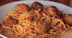 """Spaghetti com Âlmondegas de """"A Dama e o Vagabundo"""" ~ Comida de Cinema"""
