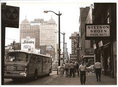 Downtown Buffalo, NY, 1960s.
