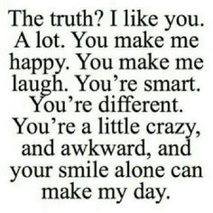 If only I could tell the guy I like just how much I like him.
