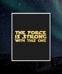 The Force is Strong With This one. yoda Gold by MagnifiqueStudio