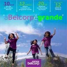 Você sabia que a Somos Belcorp Brasil investe desde 2003 em programas de empoderamento feminino para que elas continuem a transformar o futuro da nossa sociedade! Legal né, parabéns Belcorp!!!