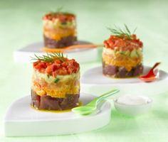 Tartare de thon et crudités cooking recette légumes