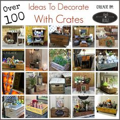 Little Brags: Decorating With Crates