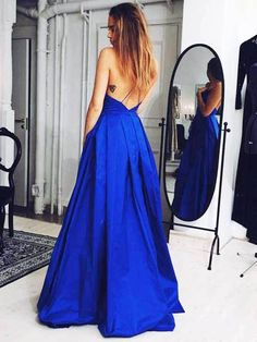 Royal Blue Prom Dress,Backless Prom Dresses,Sexy Evening Dress,New Fashion Evening Gown,Sexy Party Dress For Teens Royal Blue Prom Dresses, Open Back Prom Dresses, Backless Prom Dresses, Sexy Dresses, Cute Dresses, Formal Dresses, Short Dresses, Dress Prom, Dress Long