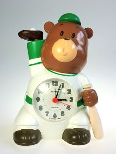 Rhythm Baseball Bear Speak Up Talking Alarm by WeStartedWithAMouse