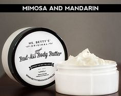 Ms. Betty's Original Scented Soy Candle Busy by BadAssCandles
