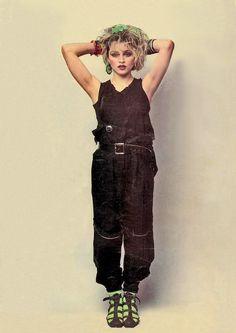 80srecordparty: Madonna by Helmut Newton