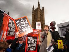 Green MP Caroline Lucas speaks at an anti-fracking rally outside the Houses of Parliament. Picture: PA