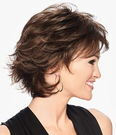 TEXTURED FLIP WIG by Hairdo - Wilshire Wigs Best Wig Outlet, Wilshire Wigs, Natural Hair Styles, Short Hair Styles, Dull Hair, Short Hair With Layers, Costume Wigs, Short Wigs, Golden Blonde