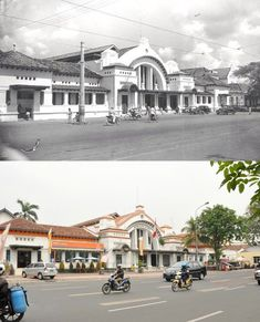 Then & Now - 13 Historical Pictures Showing Indonesia's Incredible Transformation Jakarta City, Dutch East Indies, Historical Pictures, The Good Old Days, Then And Now, Picture Show, Old Photos, Past, Street View
