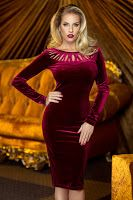 Round Neck Cut Out Long Sleeve Bodycon Dress Ruched Dress, Bodycon Dress, Skirt Outfits, Cool Outfits, Coats For Women, Clothes For Women, Minimal Outfit, Velvet Fashion, Fashion 2020