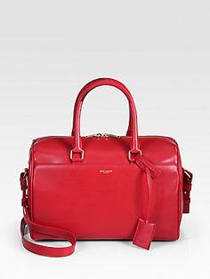 Red or black? Saint Laurent Saint Laurent Duffle 6 Bag