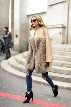 Os dejo con algunos de los mejores looks que nos esta dejando la semana de moda de París. Feliz Domingo, Besos! Today I show you some of the best Paris Fashion Week street style.   Happy Sunday, Kisse