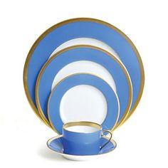 "Haviland ""Laque de Chine"" Gold, Azure Home - Dining & Entertaining - Dinnerware - Bloomingdale's"