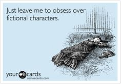 'Just leave me to obsess over fictional characters' (Christian Grey)