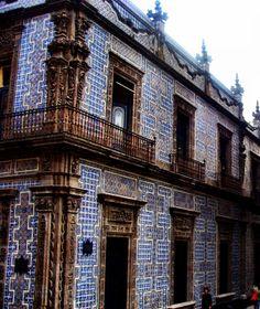 Ba o que se usaba en la poca de don porfirio d az for Casa de los azulejos mexico df