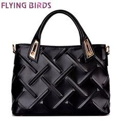 FLYING BIRDS! 2015 high quality women leather handbag luxury brand shoulder bag Women messenger bags free shipping LS3898