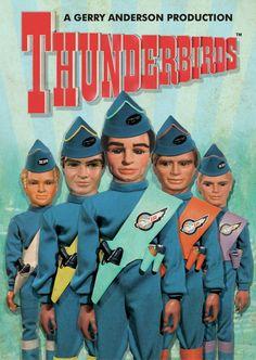 1165 Best THUNDERBIRDS (1965-1966) images | Thunderbird ...