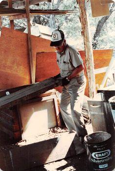 Rex Palmer at the 1980 summer ordeal at Worth Ranch