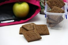 Summer isn't summer without graham crackers! These are allergen friendly (gluten, nut, and soy free and vegan. A staple that can be made into so much more!