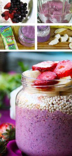 Cocina – Recetas y Consejos Raw Food Recipes, Sweet Recipes, Cooking Recipes, Healthy Recipes, Food Porn, Snacks Saludables, Diy Food, Smoothie Recipes, Smoothies