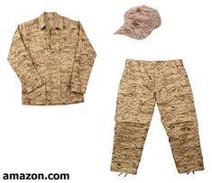 Fully Involved Stitching Toddler Army Camo Pants