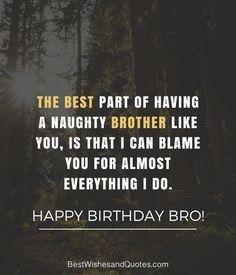 Happy Birthday Brother 41 Unique Ways To Say Happy Birthday Bro