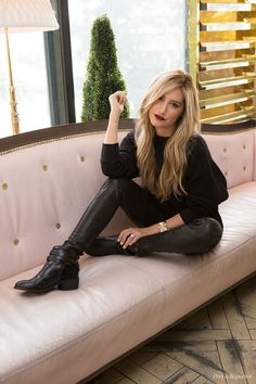 Decked Out: Ashley Tisdale Goes Dark for Fall