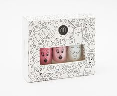 Nailmatic makes some amazing non-toxic nail polishes for kids in gift-ready boxes
