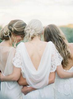 25 Best Bridesmaid Dresses for the Fine Art Bride on Wedding Sparrow