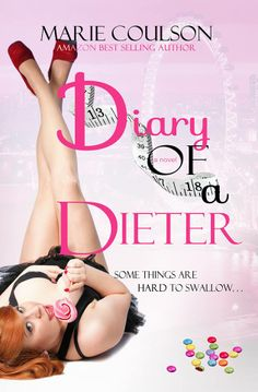 """NEW COVER for """"DIARY OF A DIETER"""" by Marie Coulson"""