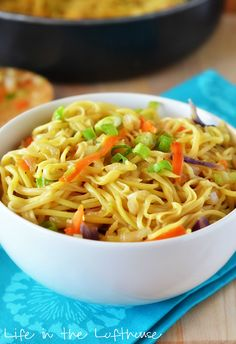 Chow Mein ~ via http://life-in-the-lofthouse.com/chow-mein/
